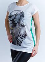 Женская модная футболка