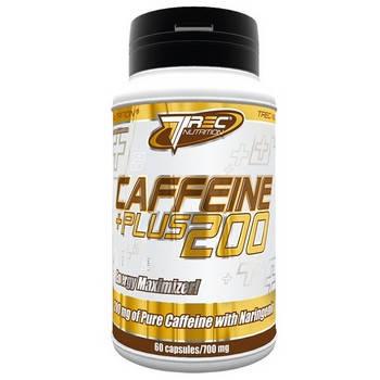 Предтренировочный комплекс Trec Nutrition Caffeine 200 Plus 60 капсул, фото 2