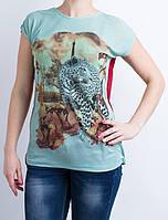 Молодежная футболка с спинкой бордового цвета