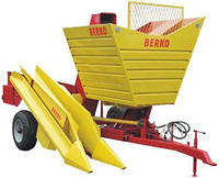 BERKO-014 однорядный комбайн для уборки кукурузы в початках