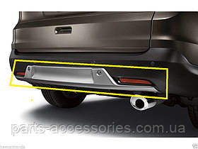 Накладка на задний бампер Honda CR-V 2012-15 новая оригинал