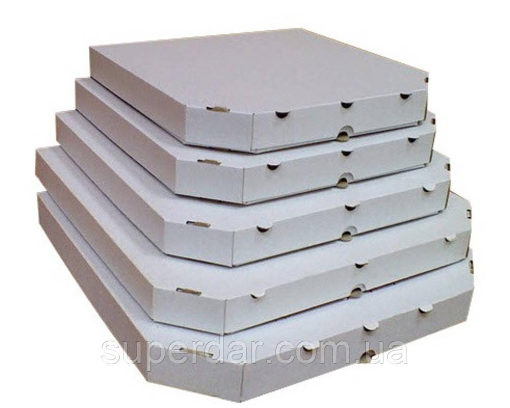Коробка под пиццу, 32 см белая