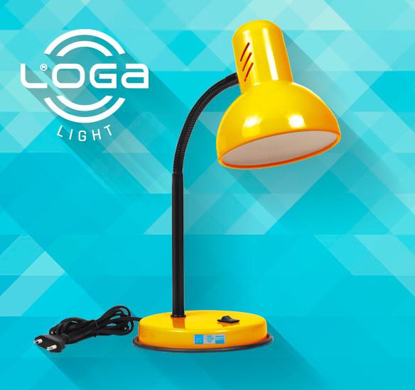 Лампа настольная Украина (ТМ LOGA ® Light)