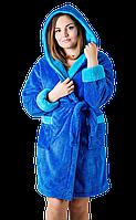 Махровый короткий халат