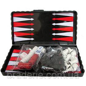 Игровой набор магнитный 3 в 1 Нарды, Шахматы, Шашки 2203