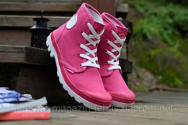 Ботинки Palladium Pampa Hi Pink женские оригинал