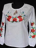 Блуза с вышивкой подросток