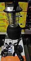 Кепминговый аккумуляторный фонарь-лампа LT-768 со встроенной солнечной панелью, зарядка 12Вт, 220Вт, от динамо, фото 1