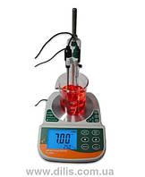 Кондуктометр / Солемер / Термометр / Магнитная мешалка / ОВП-метр - Ezodo PL-700 PCS/рН