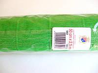 Креп-бумага (гофробумага) зеленая 180г/м