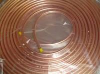 "Труба медная 1/4"" (6,35х0,76 мм) 45м.п."