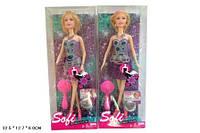 Кукла типа Барби BBL77203A  2 вида, свет, муз, в кор.33-13-6см