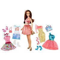Кукла Барби с набором Стильный гардероб, фото 1