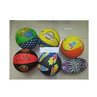Мяч баскетбольный BB0102 E02904  цветной ассорти 580 г