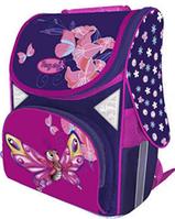 """Ранец каркасный школьный ортопедический """"Fancy Butterfly"""", CLASS 9604"""