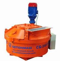 Бетоносмеситель планетарно-роторный СБ-242-5К объем 560 л