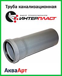 Труба канализационная 110х3000 ПП
