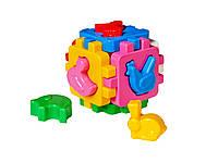 Игрушка куб Умный малыш Домашние животные 1943 ТехноК