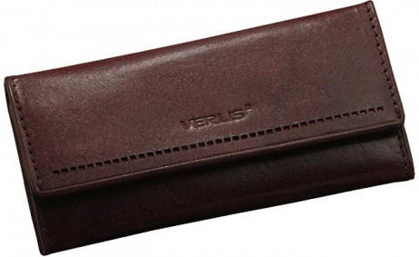 Стильный футляр для ключей кожа Verus 02B MN коричневый