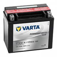 Мото аккумулятор VARTA FUNSTART AGM  YTX12-BS  510 012 009