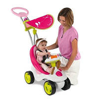 Каталка детская Bubble Go Neo розовая Smoby 413001
