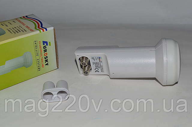 Спутниковая головка(конвертор) Eurosky TWIN EHKF-6110A