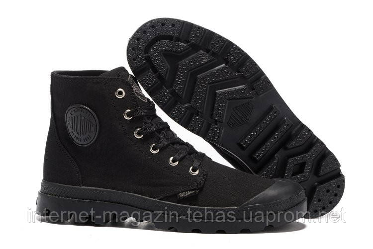 "Мужские  кеды Palladium Pampa Hi Black  - Интернет-магазин ""Steptandem"" в Киеве"