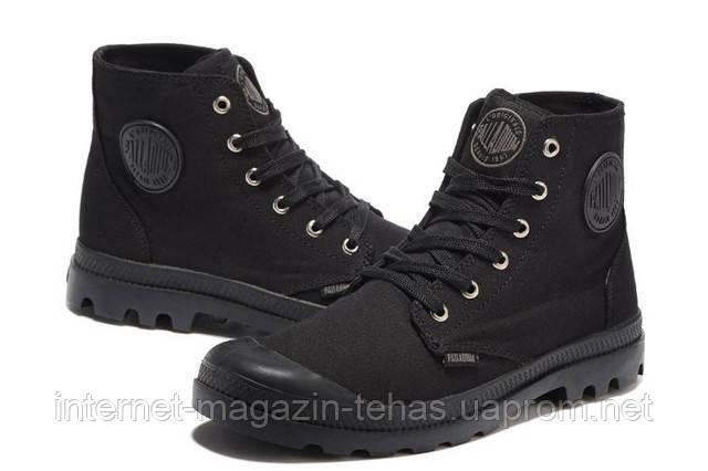 Мужские  ботинки Palladium Pampa Hi Black оригинал