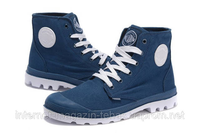 Мужские  ботинки Palladium Pampa Hi Blue оригинал