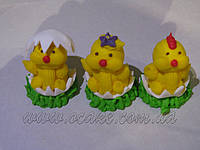 Набор цыплят сахарных 3 шт