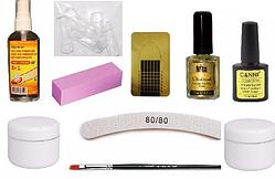 Стартовый набор для наращивания ногтей без лампы Silcare №4