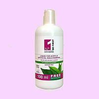 Жидкость для снятия искусственных ногтей и очистки кистей от акрила с экстрактом Зеленого чая Velena, 500 мл