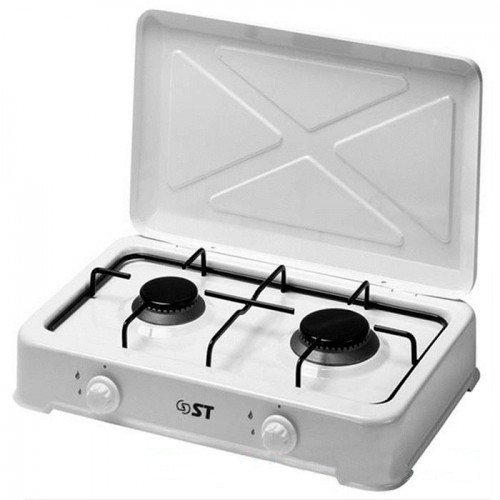 Купить Газовая плита двухконфорочная ST63-010-02 с крышкой