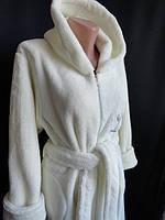 Женские махровые халаты с капюшоном купить