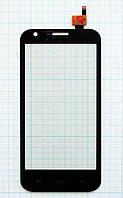 Тачскрин сенсорное стекло Prestigio MultiPhone 5501 Duo Black