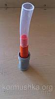 Штуцер адаптер для ниппельного поения 14 мм