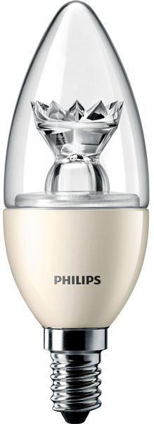 Лампа світлодіодна PHILIPS_MAS LEDcandle DT 6-40W (470Lm) B38 CL_Е14 диммируемая