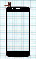 Тачскрин сенсорное стекло Prestigio MultiPhone 5504 Duo Black