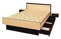 Кровать из ДСП Комфорт 1600  /  Ліжко з ДСП Комфорт 1600