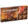 Молочный шоколад с карамелью Schogetten Caramel Brownie ,100 гр