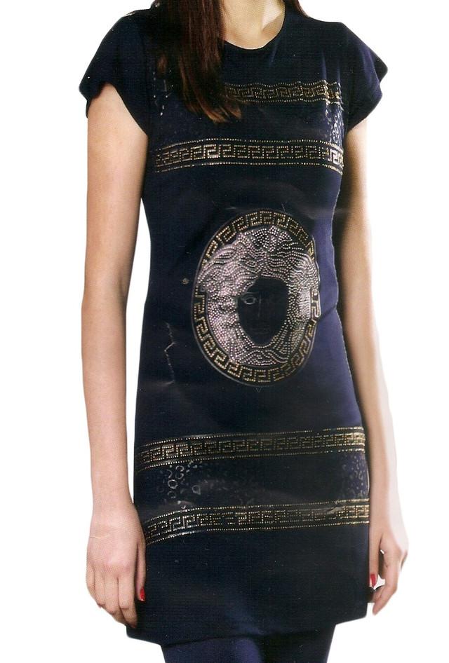 """Комплект с капри для девушек """"Versace""""-одежда для дома и отдыха"""