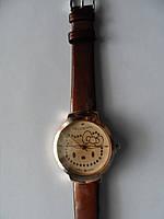 Часы наручные Hello Kitty  коричневые