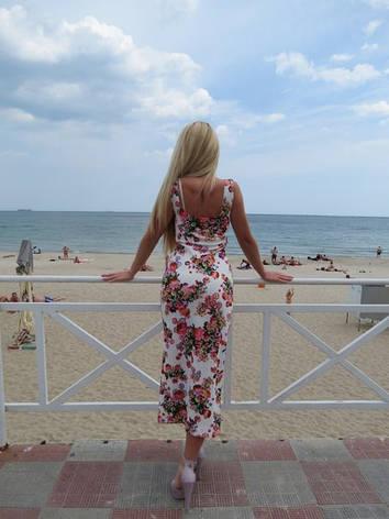 Летнее платье цветы , фото 2