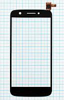Тачскрин сенсорное стекло Prestigio MultiPhone 5508 Duo Black