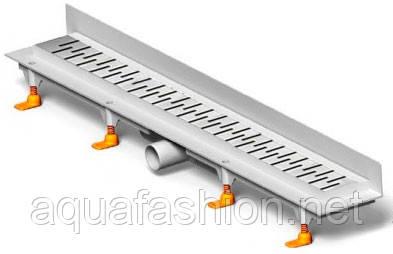 Пристенный трап 75 см MCH с решеткой Медиум CH 750 MN 3