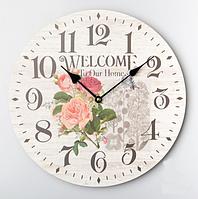 Дизайнерские настенные часы (34 см.)