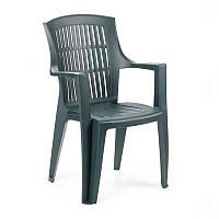 Пластиковое кресло Arpa зелёное