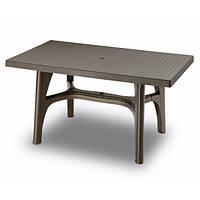 Стол Intrecciato 140 x 80 бронза