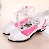 Босоножки туфли праздничные для девочки , фото 1