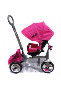 Детский трехколесный велосипед М 3112-3 розовый, фото 2